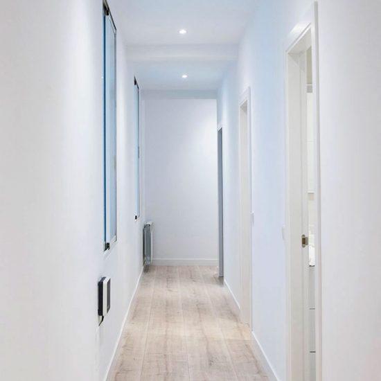 PASILLO General Pardiñas - Madrid - Reforma Cora Arquitectura Interior