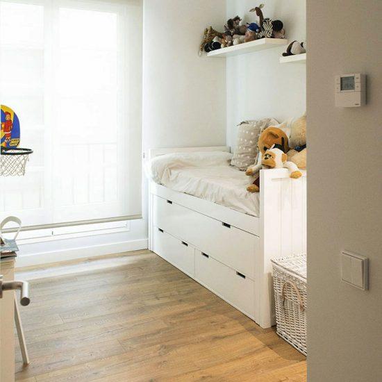HABITACION López de Hoyos - Madrid - Reforma Cora Arquitectura Interior