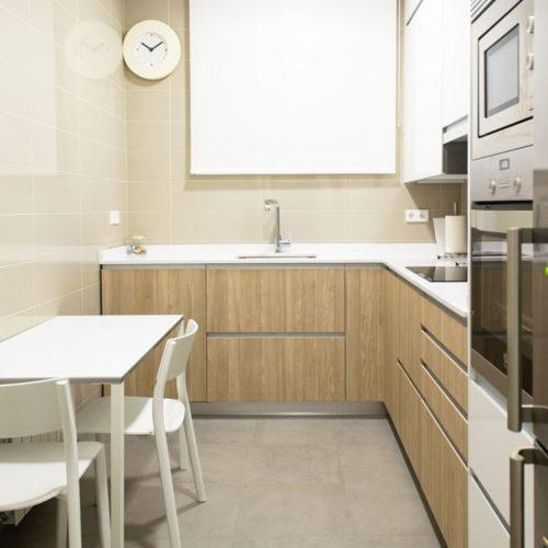 COCINA Principe de Vergara - Madrid - Reforma Cora Arquitectura Interior