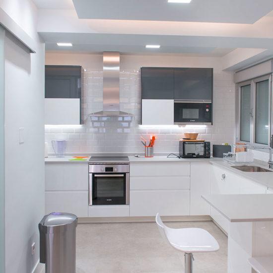 COCINA Nuñez de Balboa - Madrid - Reforma Cora Arquitectura Interior
