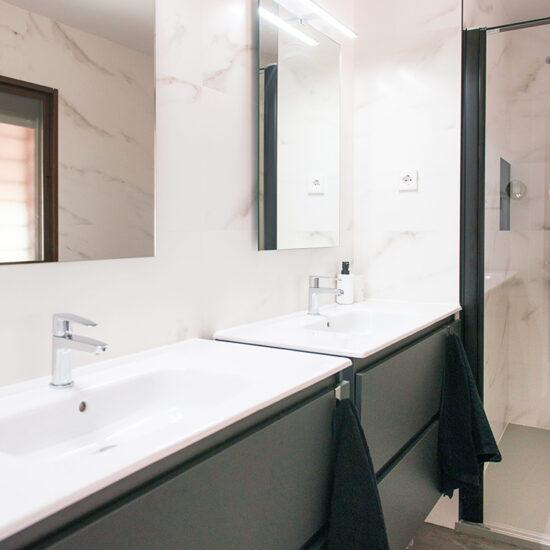 BAÑO Dalia - Madrid - Reforma Cora Arquitectura Interior