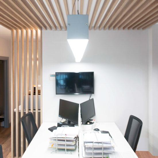 OFICINA CORA, Jose Bergamin, Madrid. Reforma Cora Arquitectura Interior-Zona de trabajo