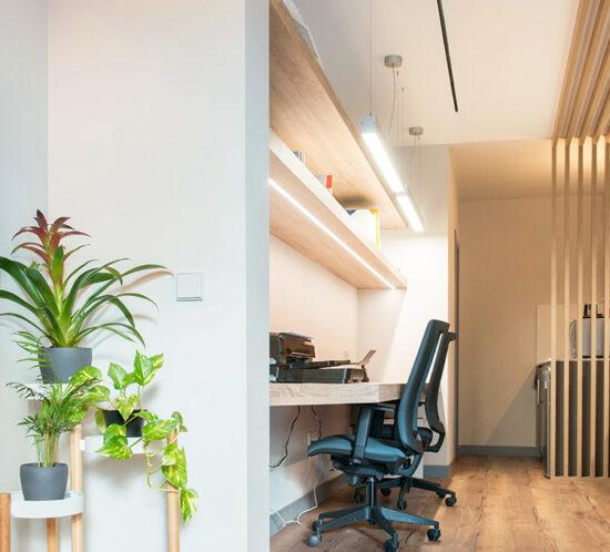 OFICINA CORA Jose Bergamin - Madrid - Reforma Cora Arquitectura Interior