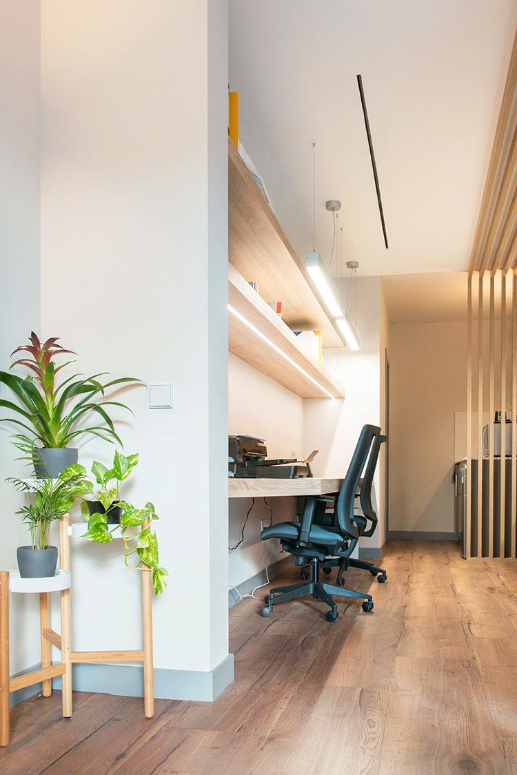 OFICINA CORA, Jose Bergamin, Madrid. Reforma Cora Arquitectura Interior-Recepción