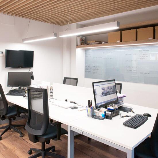 OFICINA CORA, Jose Bergamin, Madrid. Reforma Cora Arquitectura Interior-Zona de oficina