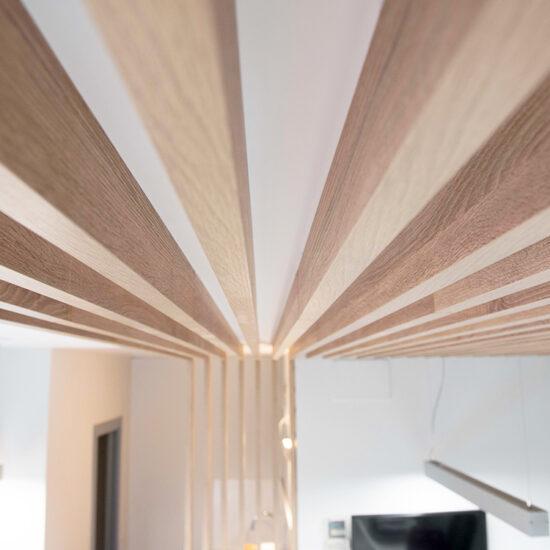 OFICINA CORA, Jose Bergamin, Madrid. Reforma Cora Arquitectura Interior-Detalle celosía