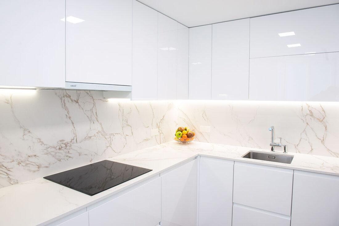 Reforma integral de cocina, Madrid, Cora Arquitectura Interior. Cocina minimalista
