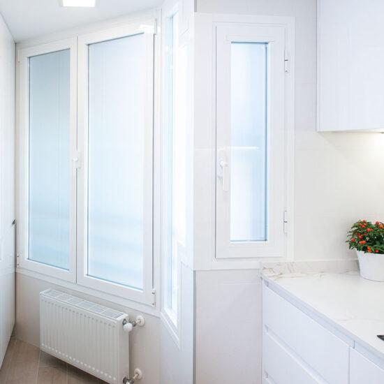 Reforma cocina, Madrid - Reforma Cora Arquitectura Interior. Cocina blanca