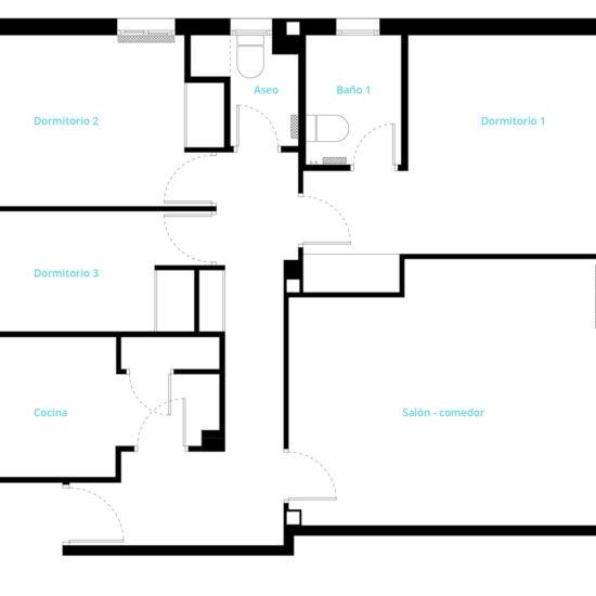 Reforma vivienda. Cora Arquitectura