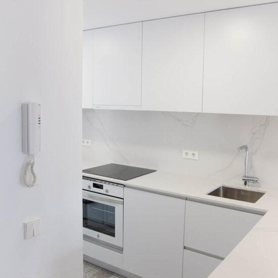 Reforma cocina Madrid. Diseño de interiores
